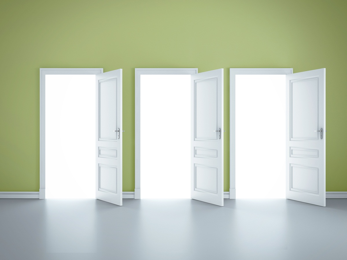 Creating an institutional culture that embraces for Door 1 2 or 3
